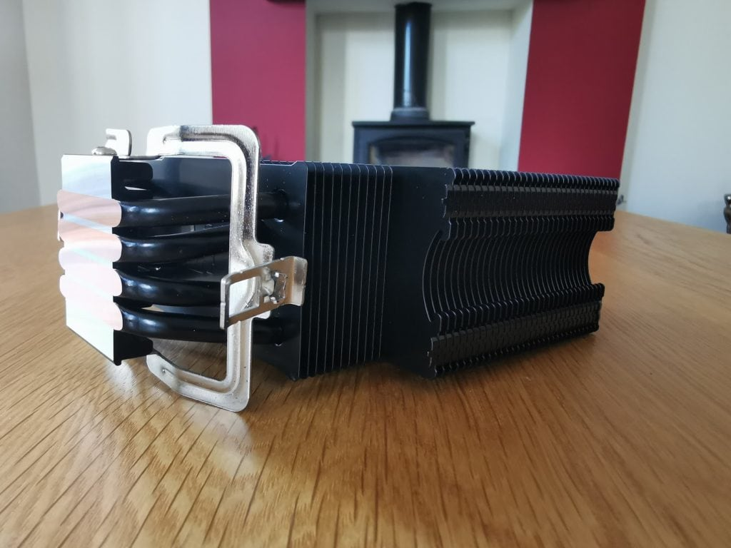 ThermalTake UX200 ARGB CPU Cooler with 120mm ARGB Fan Review 3