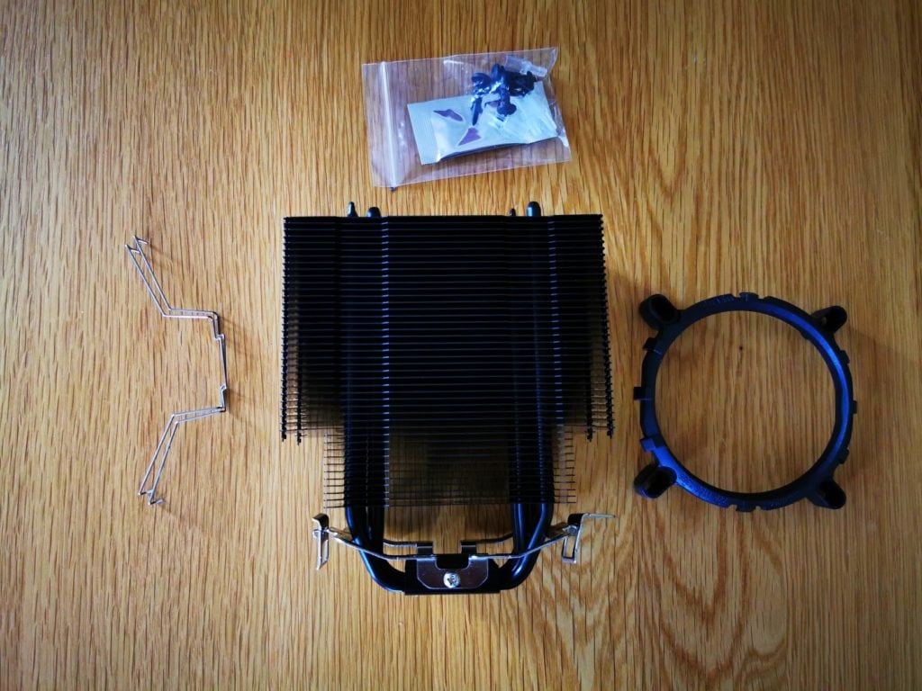 ThermalTake UX200 ARGB CPU Cooler with 120mm ARGB Fan Review 2