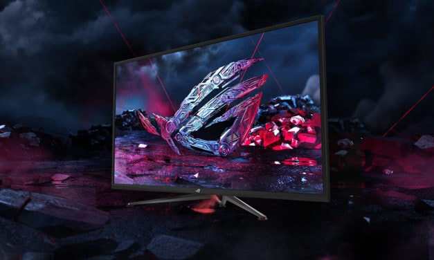 ASUS ROG Strix XG438Q 4K 120Hz monitor launches in August for £1099