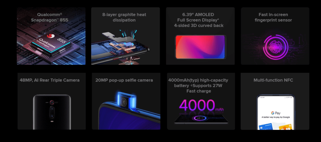 Xiaomi Mi 9T Pro is officially launching. Pre-order for €399.00/£364 from Amazon.es 3