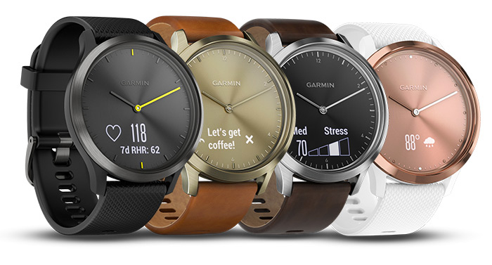 Garmin Vivomove 3 Series Features – Could launch with a colour dual-screen