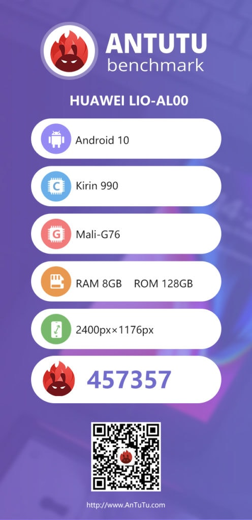 Huawei Mate 30 Pro with Kirin 990 tested on AnTuTu 8 - Sits between S855 and S855+ phones 3