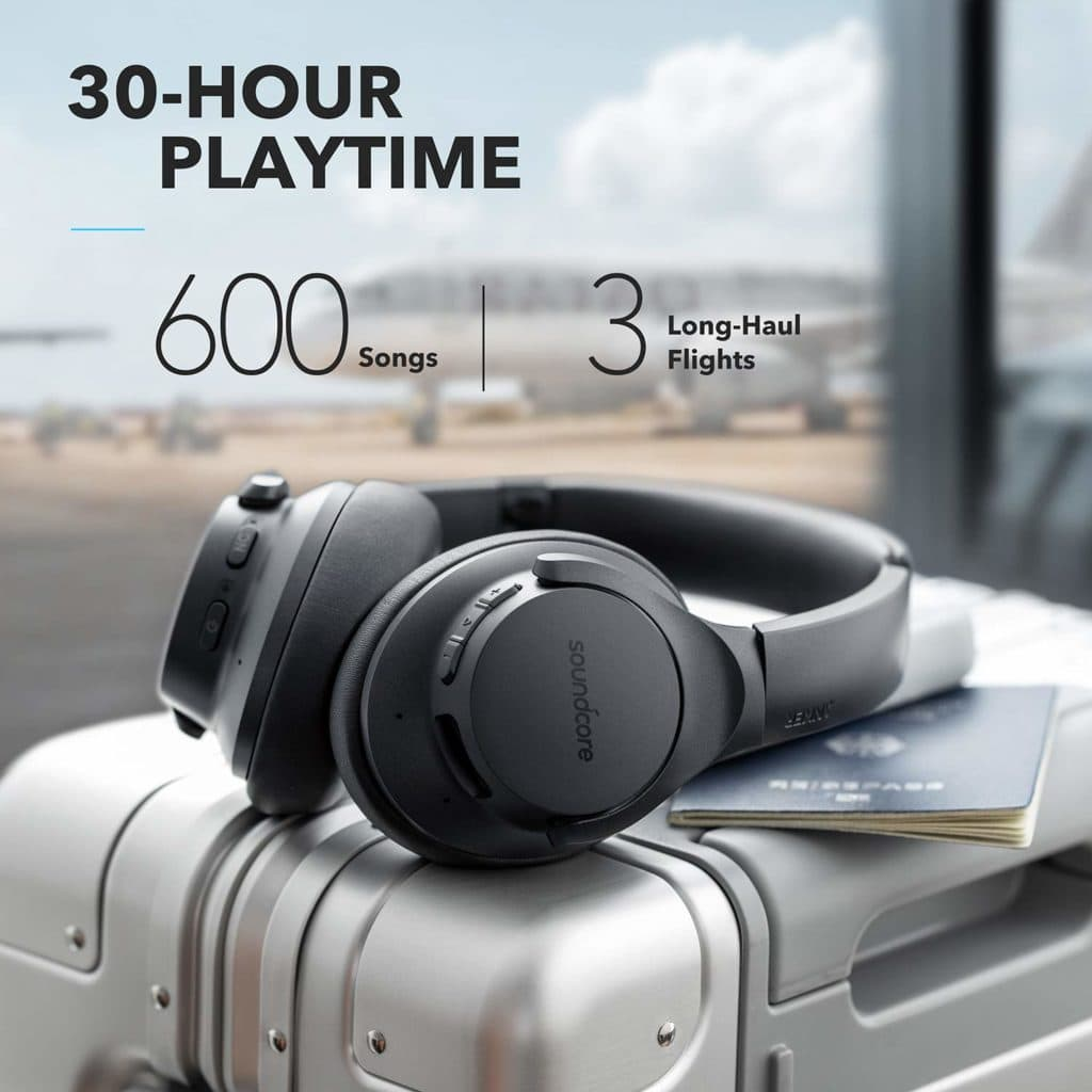 Anker Soundcore Life Q20 Hybrid Active Noise Cancelling Headphones Review – Affordable, comfortable and excellent noise cancelling 3