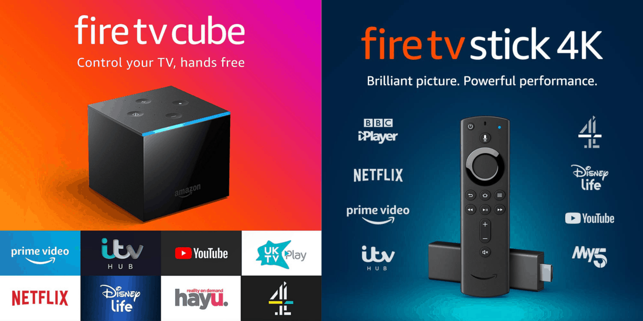New Fire TV Cube 4K Ultra vs Amazon Fire TV 4K HDR vs 1st