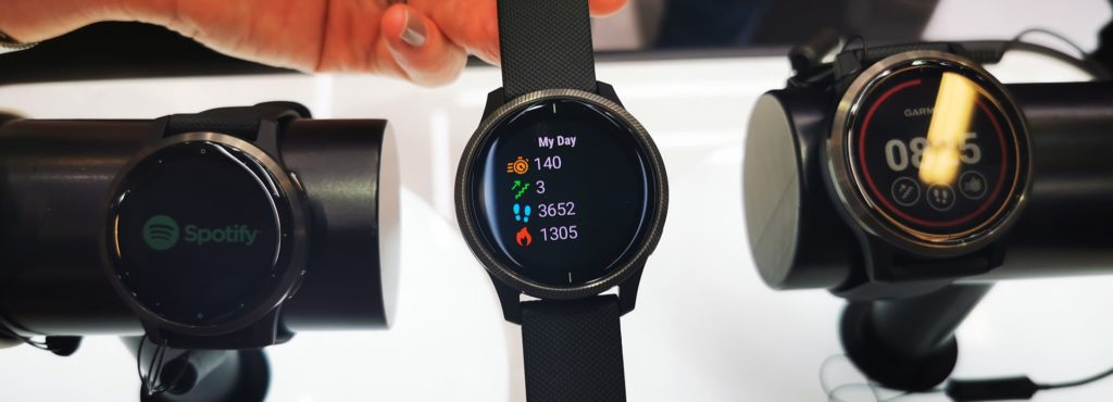 What is the Garmin Venu and how does it compare to the Vivoactive 4 1
