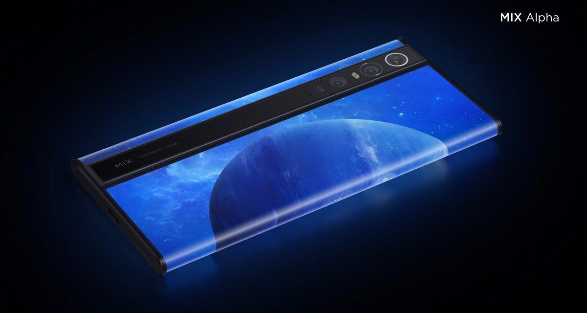 Xiaomi goes whacky with the Mi Mix Alpha and its 180% screen-to-body ratio. But it will cost you over £2.25k