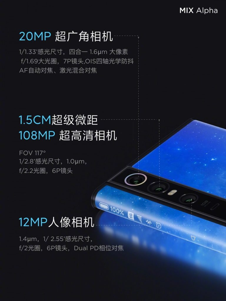 Xiaomi goes whacky with the Mi Mix Alpha and its 180% screen-to-body ratio. But it will cost you over £2.25k 4