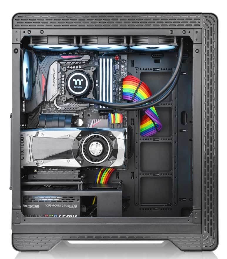 Thermaltake S500 TG Mid-Tower Steel Chassis vs £210 A500  - Is this £100 case a better buy? 13