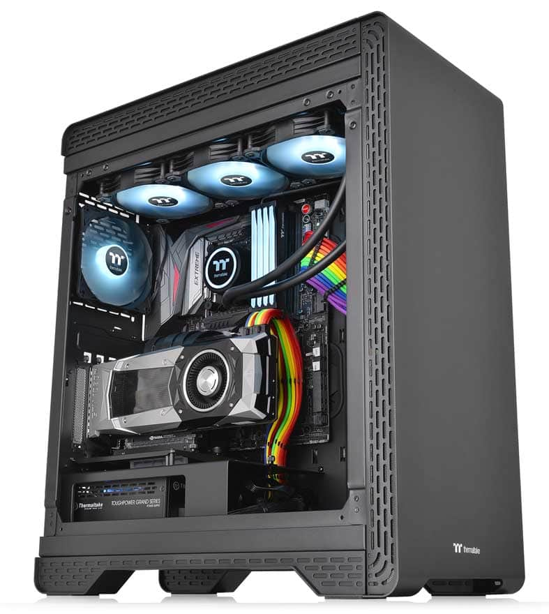 Thermaltake S500 TG Mid-Tower Steel Chassis vs £210 A500  - Is this £100 case a better buy? 12
