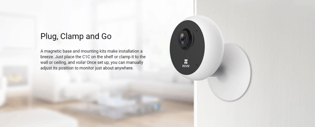 Ezviz C1C 1080P Indoor Smart Security Camera Review 15