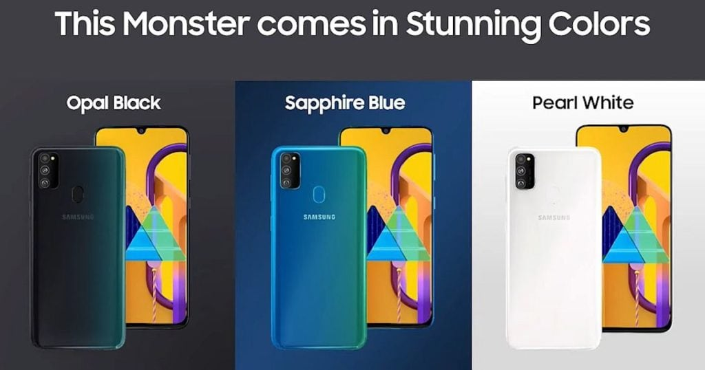 Samsung Galaxy M30S vs M30 - Samsung gives the M30 a big upgrade and monster battery 1