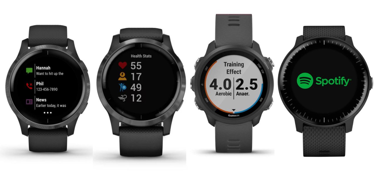Garmin Vivoactive 4, 4S & Venu vs Forerunner 245 vs Vivoactive 3 – How do the models compare and which is the best?