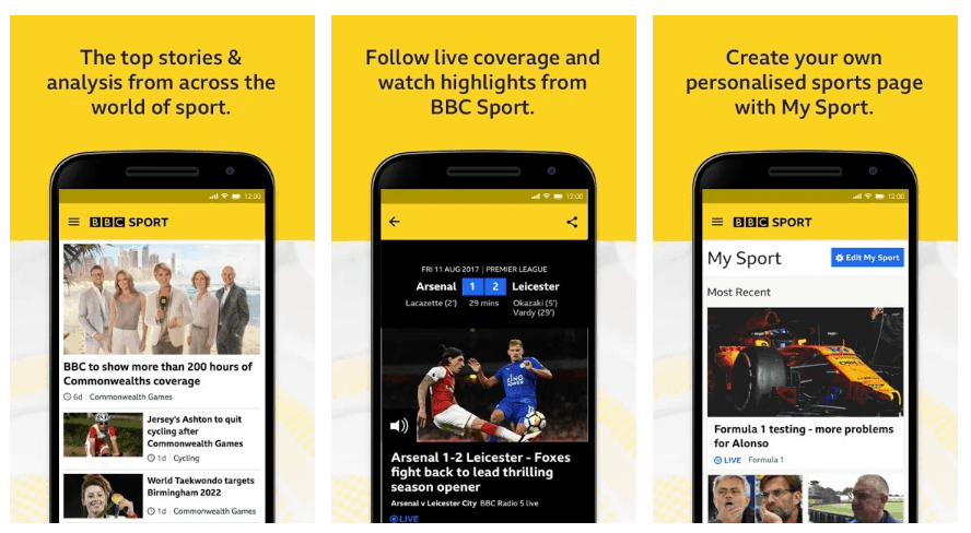 The Best Sporting Apps to Keep Track of the Football on Android 2