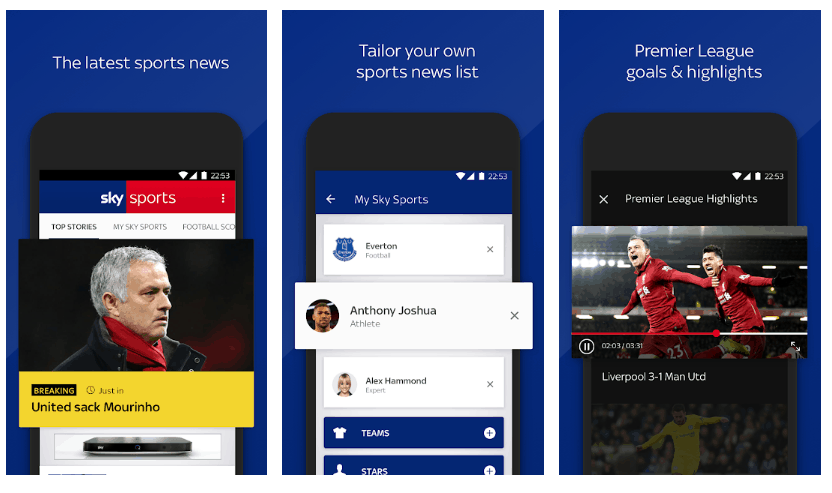The Best Sporting Apps to Keep Track of the Football on Android 1