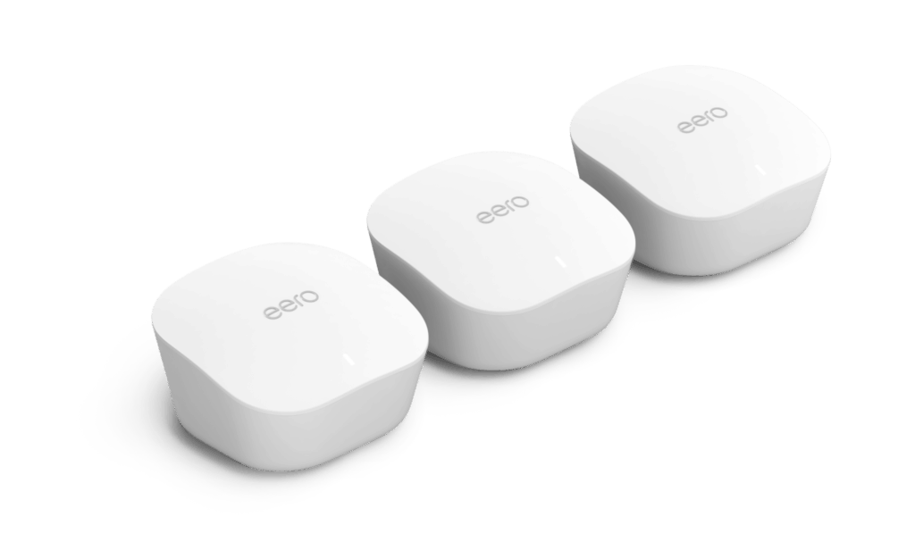 Amazon finally introduce eero mesh Wi-Fi system to the UK - £249 for a three-pack 1
