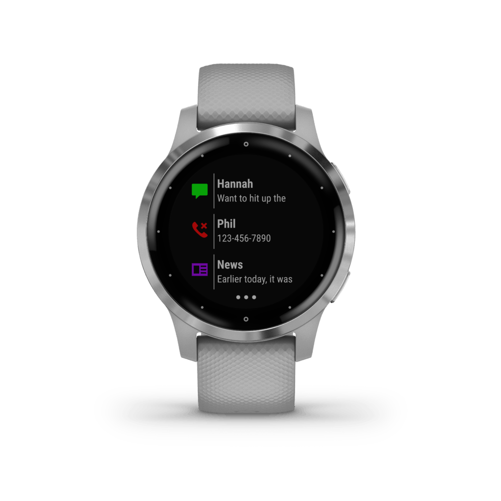 What is the Garmin Venu and how does it compare to the Vivoactive 4 9