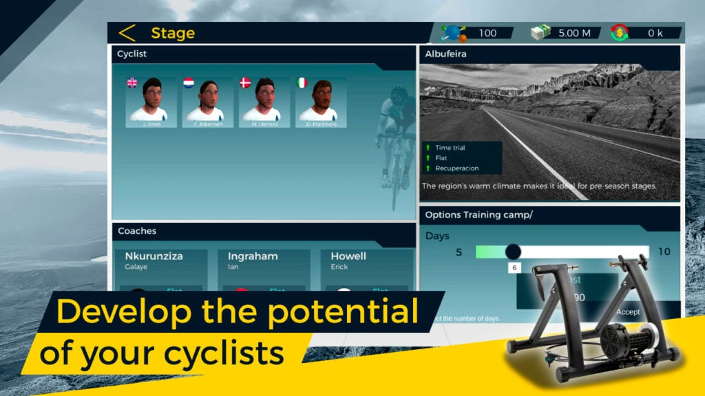 Live Cycling Manager 2, the ultimate cycling manager game 1