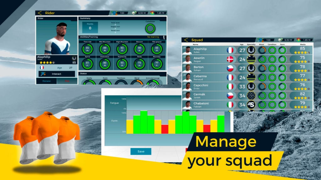 Live Cycling Manager 2, the ultimate cycling manager game 3