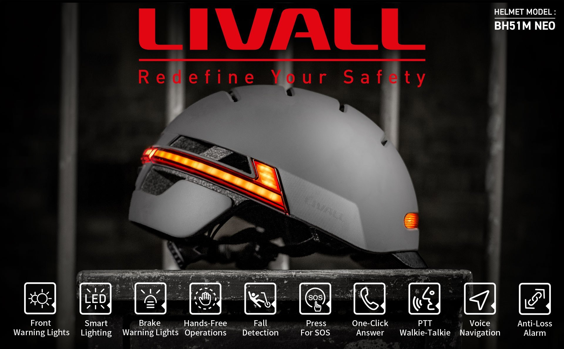 Livall BH51M NEO Cycling Helmet Review – The Perfect commuters helmet with brake lights, fall detection, and speakers