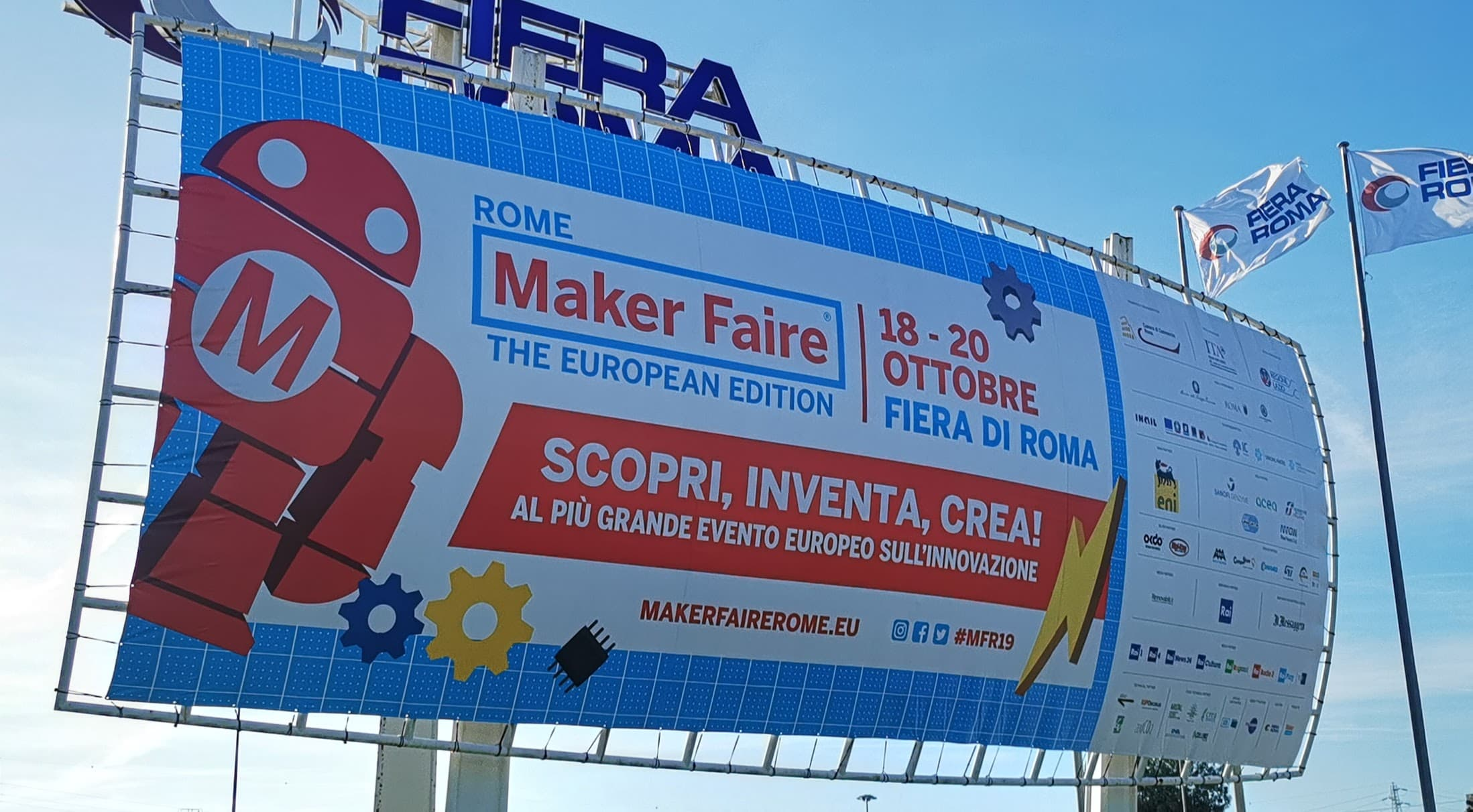 Maker Faire Rome 2019 – A perfect opportunity for startups to link up with investors.