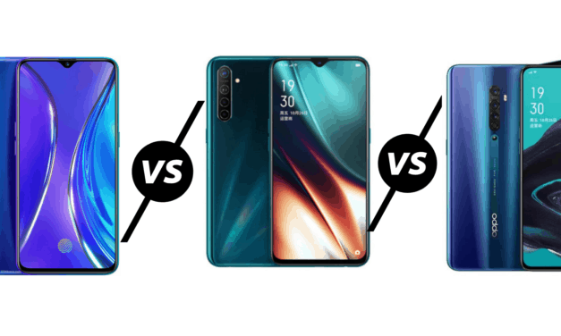 Realme X2 vs Oppo K5 vs Oppo Reno2 – Three very similar phones, which one is best?