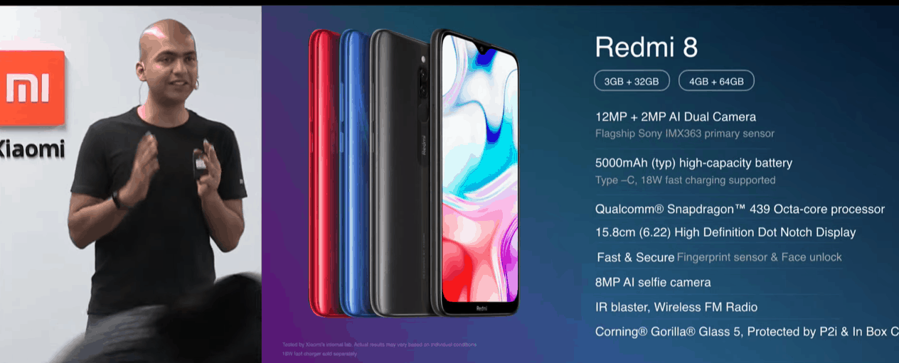 Xiaomi Redmi 8 announced with Snapdragon 439, 5000 mAh battery, & dual-camera