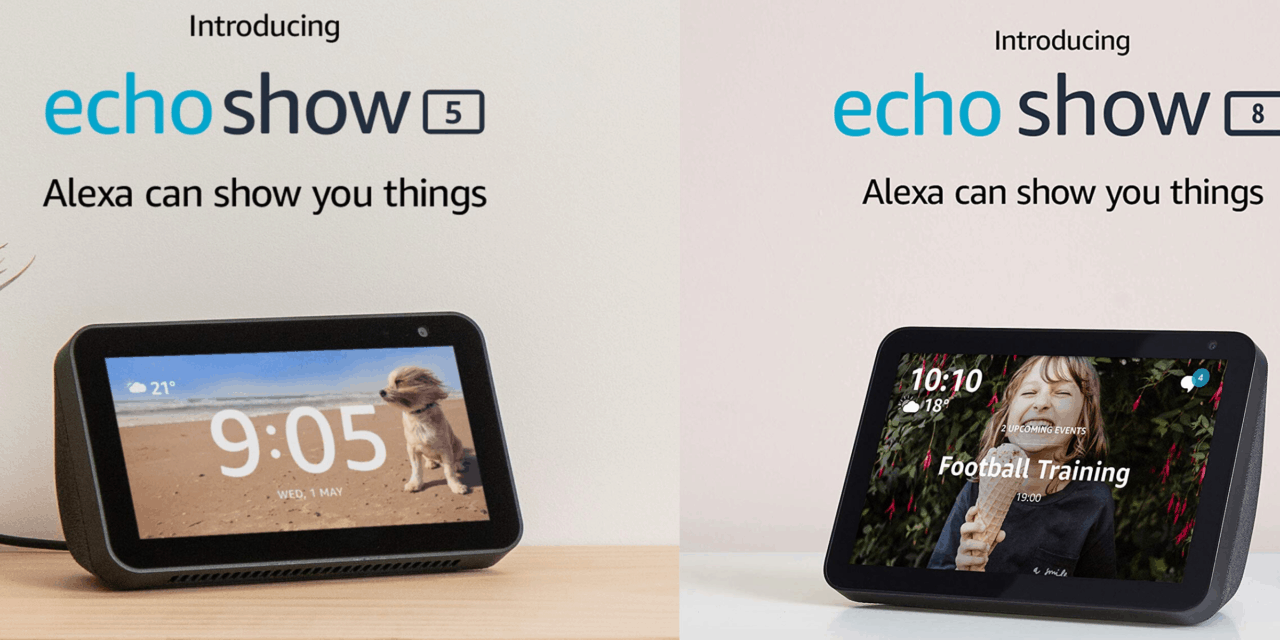 Amazon Echo Show 5 vs Echo Show 8 – Which is best for Black Friday?