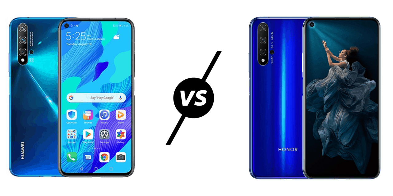 Huawei Nova 5T vs Honor 20 Compared – Is there a difference?