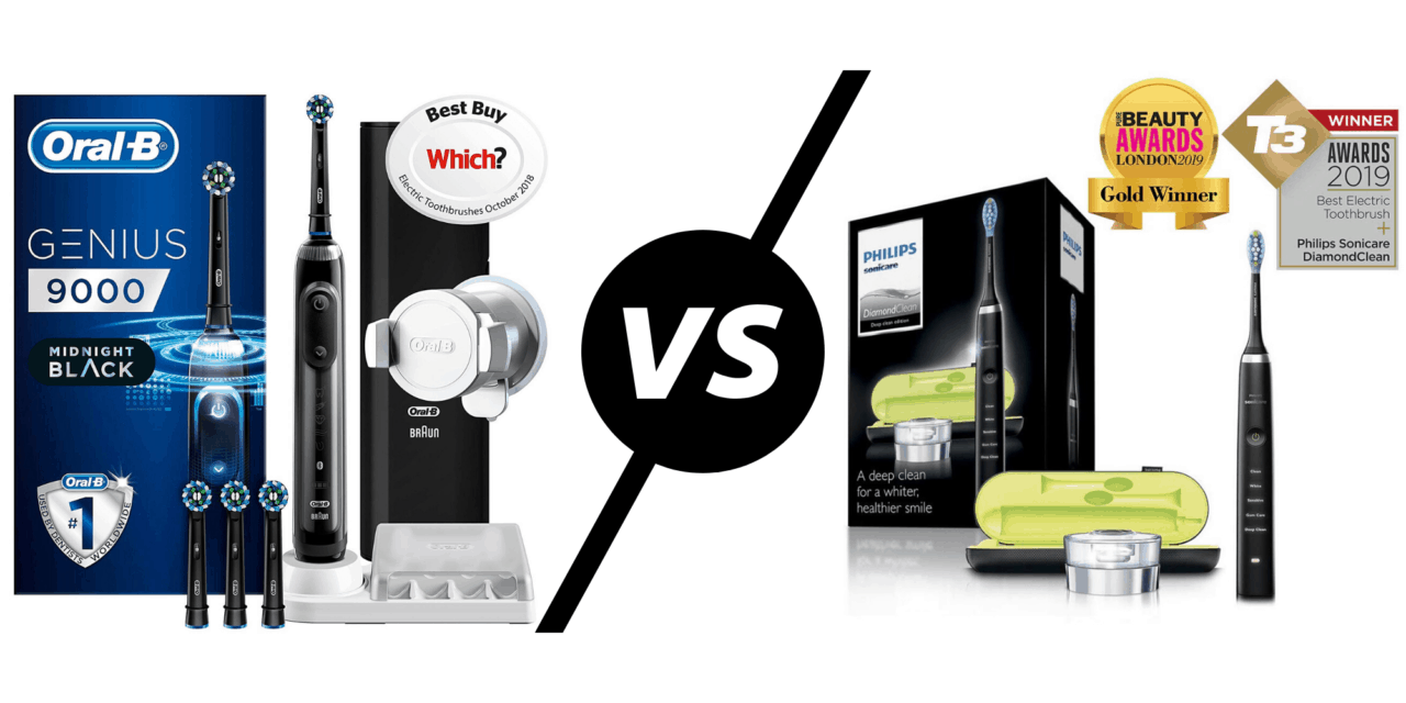 Oral-B Genius 9000 CrossAction vs Philips Sonicare DiamondClean Electric Toothbrush - No creas eso RRP, pero ¿cuál es la mejor oferta del Black Friday?