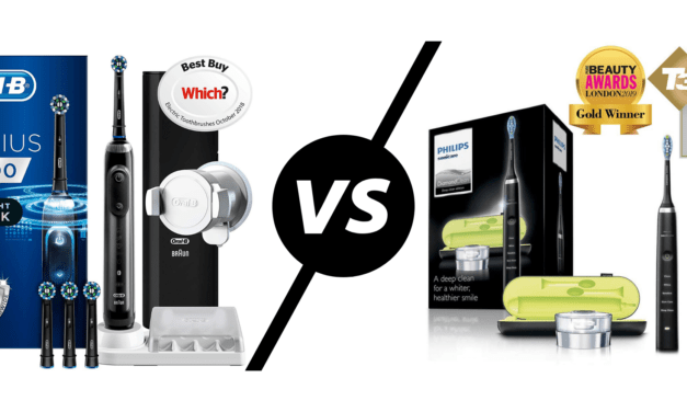 Oral-B Genius 9000 CrossAction vs Philips Sonicare DiamondClean Electric Toothbrush – Don't believe that RRP, but which is the best Black Friday deal?