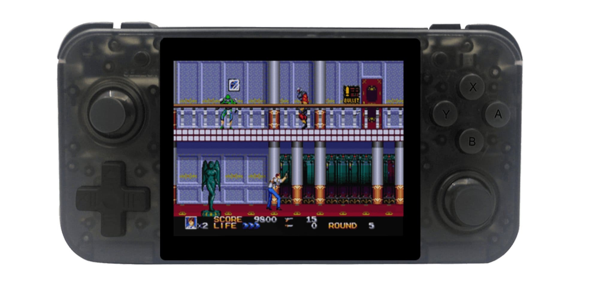 Anbernic Retrogame Rg350 Review Handheld Emulator With Game Boy Gba Snes Nes Ps1 Also Bittboy