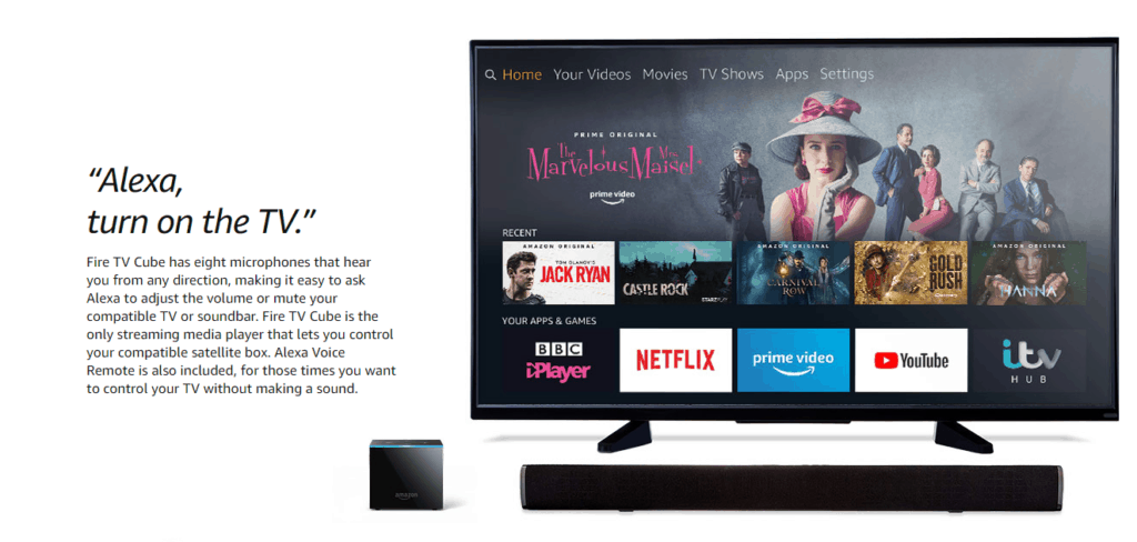 Amazon Fire TV Cube 2019 Review – Still one of the best streaming devices on the market, but less impressive than last year. 1