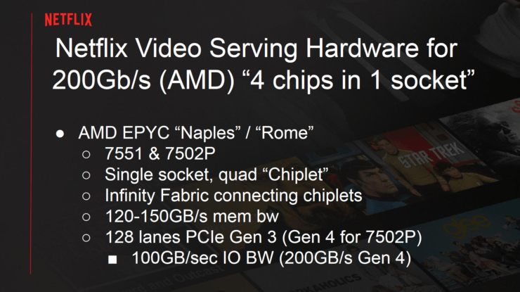 Netflix could ditch Intel for AMD EPYC 7