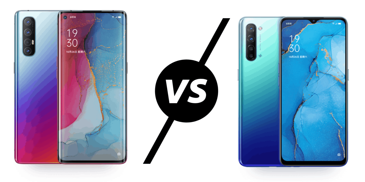 OPPO Reno3 5G vs Reno3 Pro 5G Antutu score – Dimensity 1000L beats Snapdragon 765G again – CPU is 22% more powerful