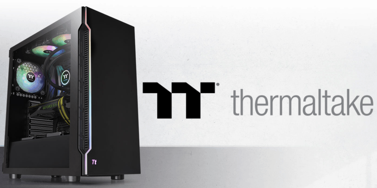 Thermaltake H200 Tempered Glass Case Review – An attractive budget case with a RGB Light Strip