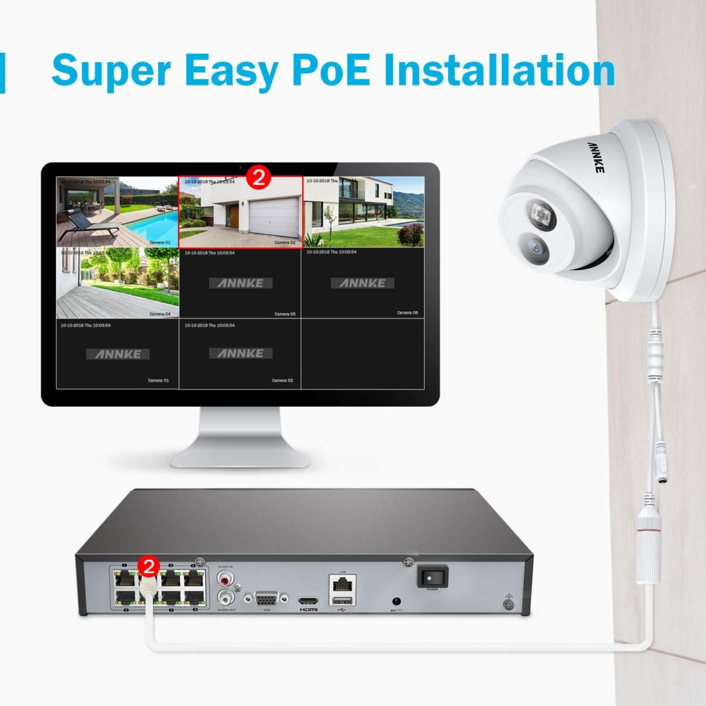 Annke I91BF 4K 8MP POE IP Security camera Review – An affordable 4K POE CCTV camera suitable for home users wanting improved performance over wireless CCTV 3