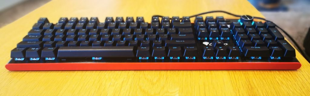Natec Genesis RX85 RGB Mechanical Keyboard Review with Kailh Brown switches 1