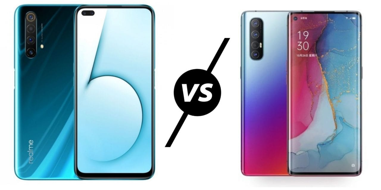 Realme X50 5G vs Oppo Reno3 Pro Compared – Which is best?