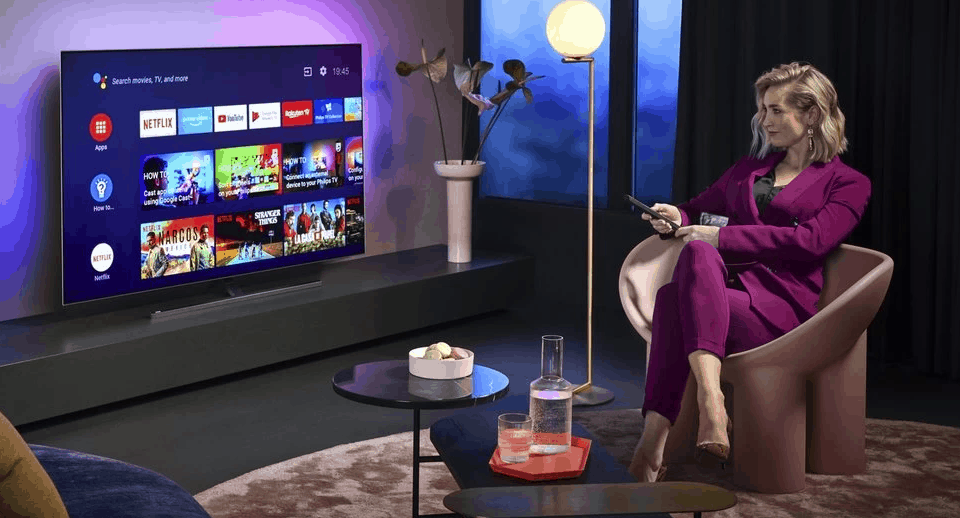Philips Launch new 805/855 OLED TVs for 2020 with 4th Gen P5 with AI Functionality & HDR10+ Plus Dolby Vision