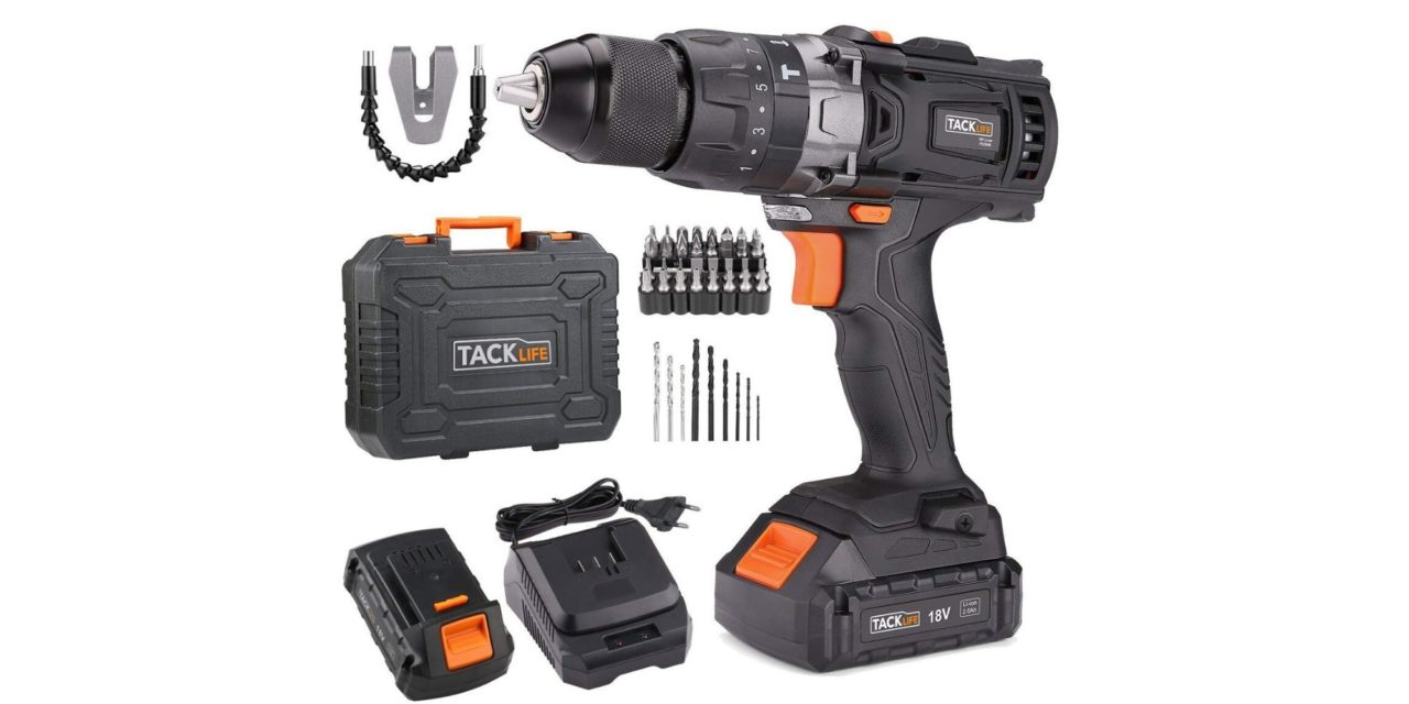 Tacklife PCD04B 18v cordless electric drill with hammer review – An affordable alternative to DeWALT for the casual DIYer
