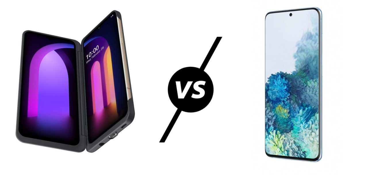 LG V60 ThinQ 5G vs LG V50 ThinQ 5G vs Samsung Galaxy S20 – LG go back a step, bigger screen, lower resolution and no zoom lens. Can they compete with Samsung?