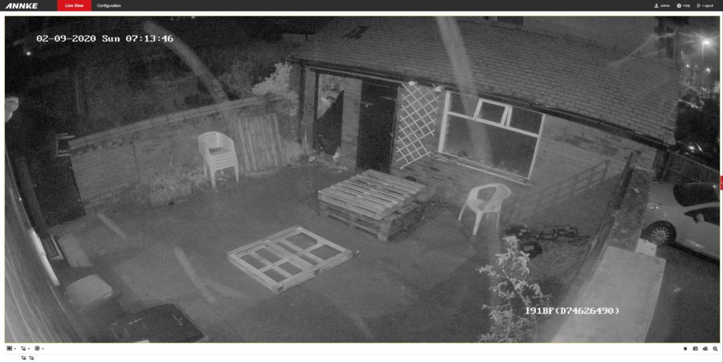 H.View Colour Night Vision Outdoor POE IP Camera Review 4