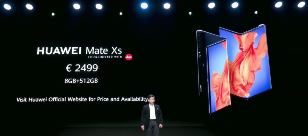 Huawei Mate Xs vs Huawei Mate X vs  Samsung Galaxy Fold – Huawei launch a new and improved foldable but the price is prohibitively expensive 4