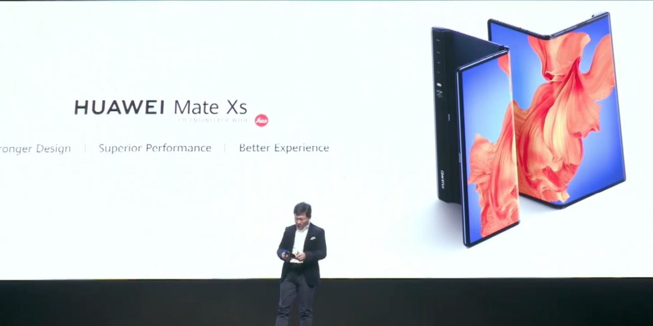 Huawei unveils Mate Xs foldable with Leica quad-cam #30254