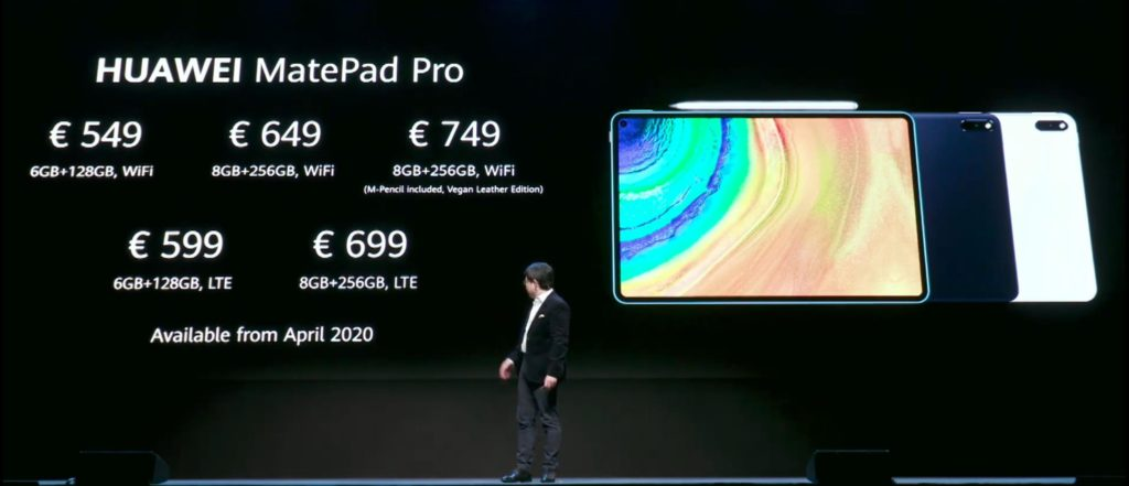 Huawei MatePad Pro 5G is a rare flagship grade Android tablet to compete with Samsung Galaxy Tab S6 6