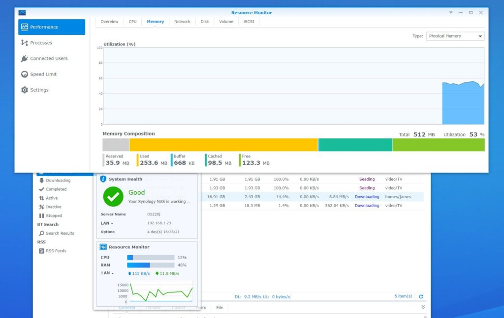 Synology DS220j 2 Bay NAS Review – More affordable than the DS218play & better than the DS218j 8