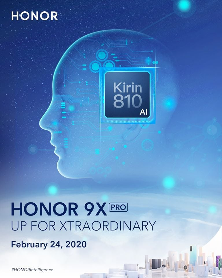Honor 9X Pro with Kirin 810 SoC to launch alongside V30 with Huawei Mobile Services (HMS) on 24th of February 2