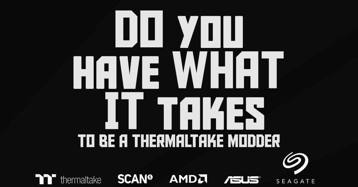 Thermaltake 2020 Case Mod Challenge Event Day at Scan in Bolton