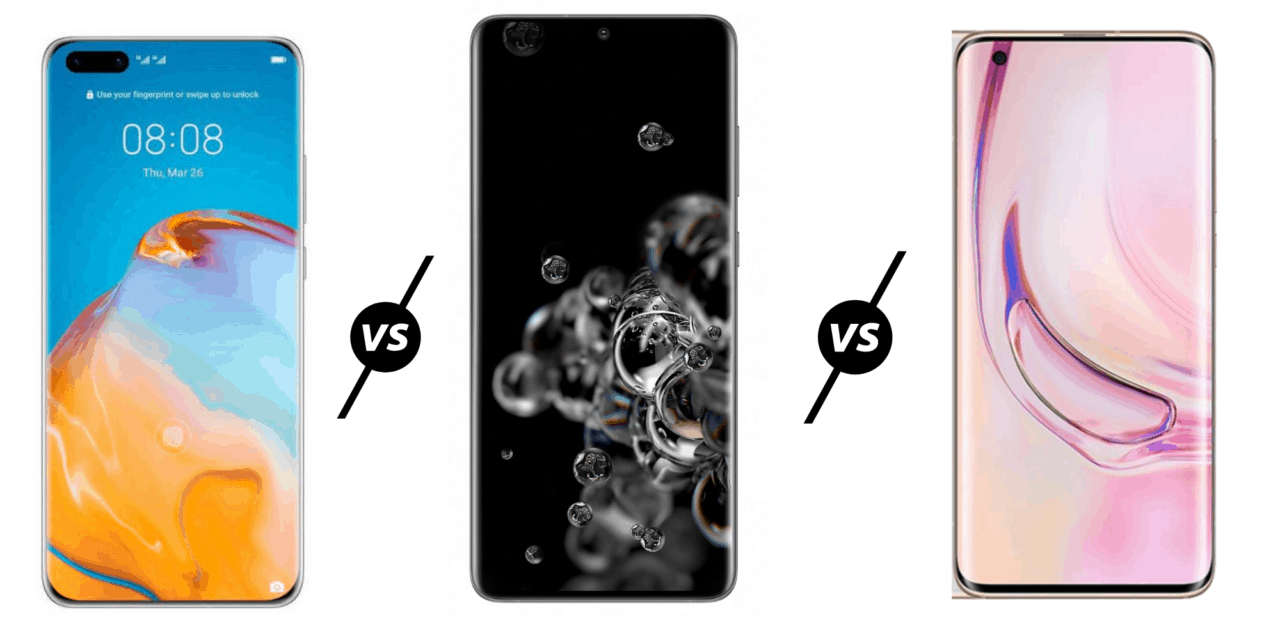 Huawei P40 Pro vs Samsung Galaxy 20 Ultra vs Xiaomi Mi 10 Pro 5G Compared – Who has the best flagship?