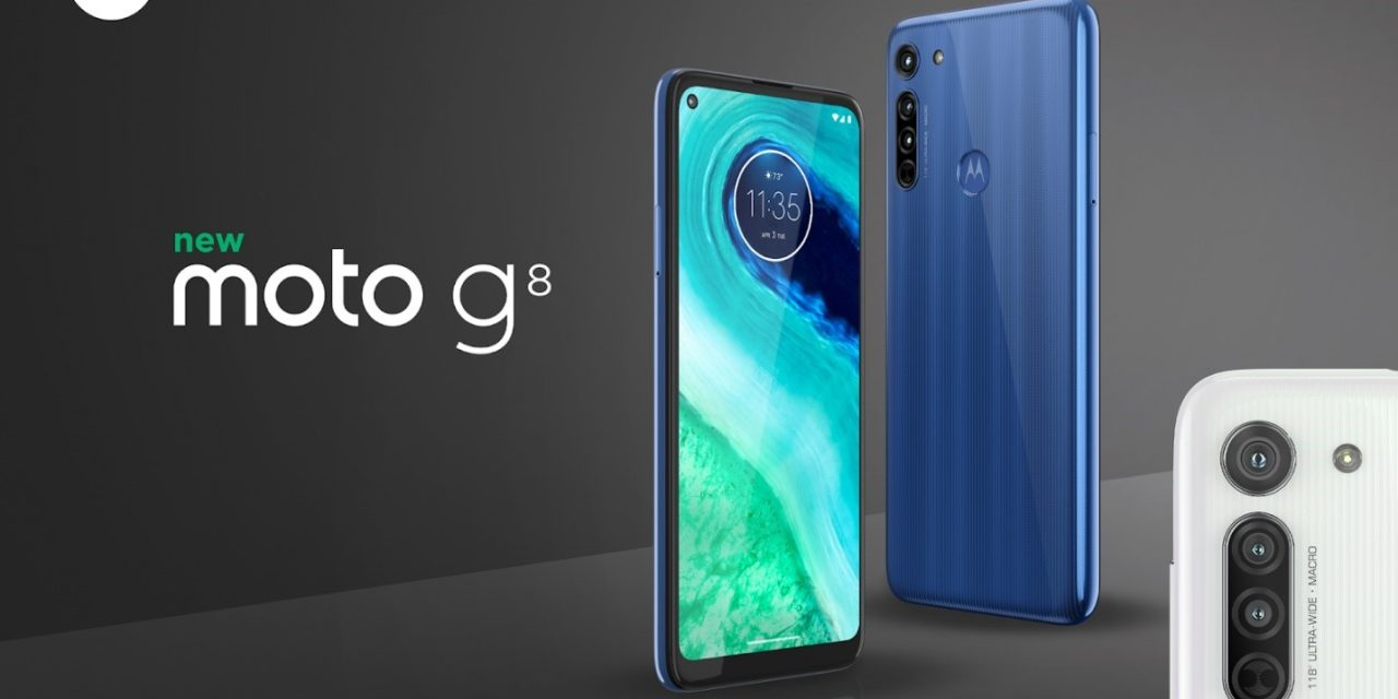 Motorola moto g8 launched – A cut-down & more affordable moto g8 power